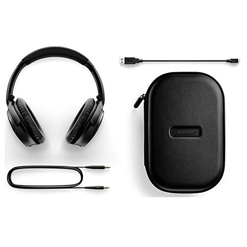Bose QuietComfort 35 Wireless Bluetooth Noise Cancelling Headphones - Black